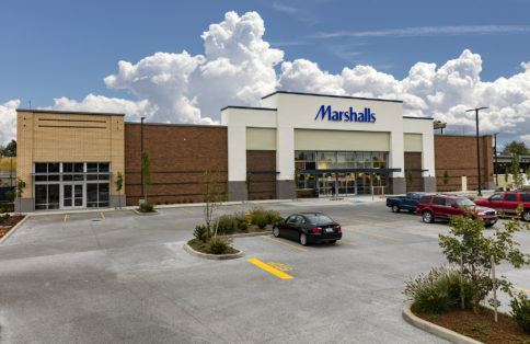 Marshalls Retail property leasing Vancouver