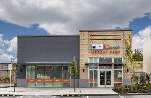 Leasable retail space Vancouver