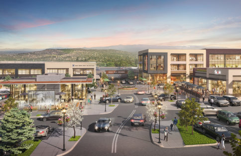 Retail shopping center concept Oregon